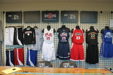 dd36d5af965 Shirts & Skins, which opened in 2002, markets and designs basketball  uniforms for more