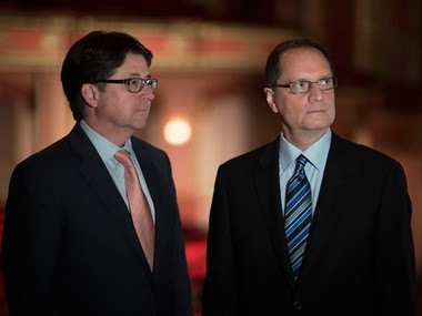 "Dean Strang and Jerry Buting, two of Steven Avery's defense lawyers featured in ""Making a Murderer."" The two are in Portland June 19 as part of their national ""A Conversation on Justice"" tour."