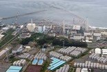 This aerial photo taken on Aug. 31, 2013, shows the Fukushima Dai-ichi nuclear plant. Just weeks after Japanese officials acknowledged that radioactive water has been seeping into the Pacific from the tsunami-crippled nuclear power plant for more than two years, revelations of leaks of contaminated water from storage tanks have raised further alarm.