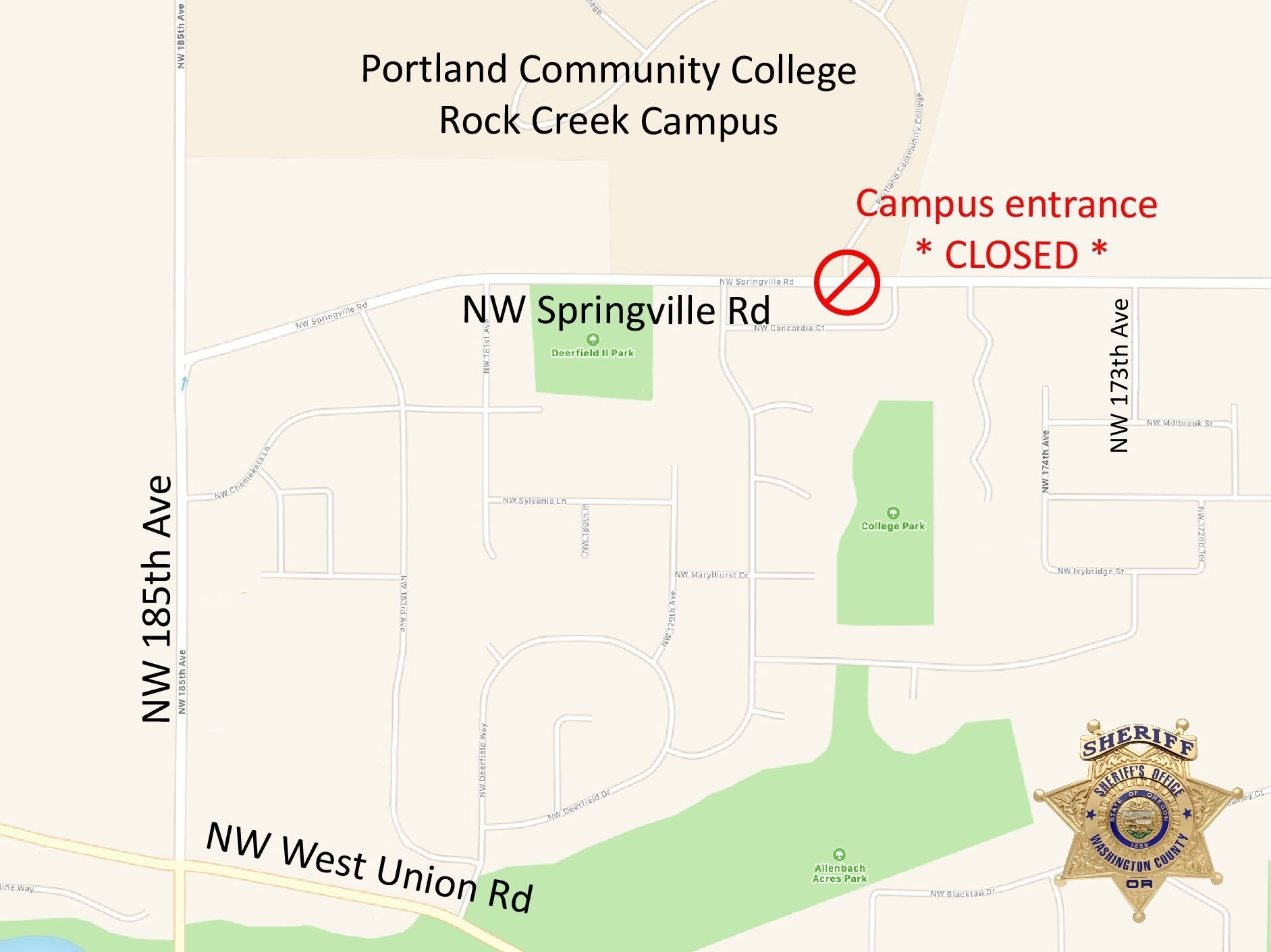 PCC Rock Creek campus reopens after bomb threat forces ...