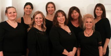 The staff of La Belle U Wellness Spa in Canby (Mallory Gwynn)