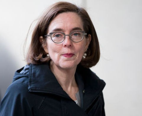 Gov. Kate Brown has called for the banning of certain semiautomatic firearms and defining them as
