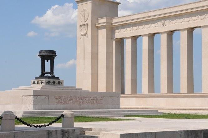 The Pennsylvania Memorial, Varennes-en-Argonne, France. Taken May 2017. By Thomas Atherton and Paul Cret, 1927.