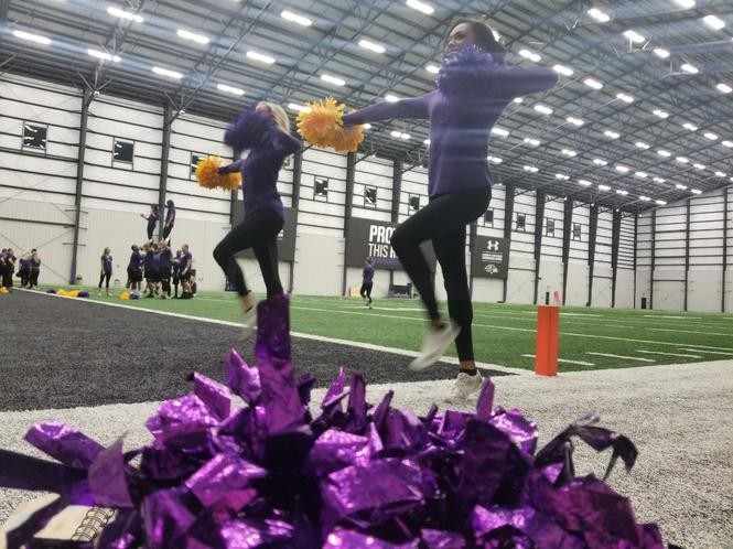 Jennah and Kodi are from Pa. and in their rookie year on the Baltimore Ravens' cheer squad.