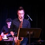 Drew Krasner, 21, a Central Dauphin High School graduate and senior at Berklee College of Music in Boston, said he participated in many state-sponsored festivals and often found himself in leadership roles, experiences that helped him grow. Drew is shown here playing at a friendâÂÂs senior recital at Berklee.