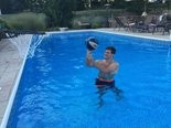 Messiah College student Dexter Ehrenzeller never thought that he would lose a tooth playing basketball with college friends in his family's swimming pool.