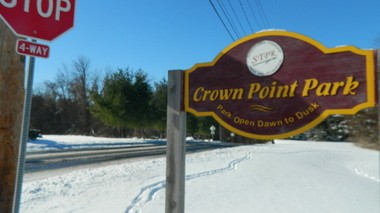 Logan Farm Park visitors will park their cars at Crown Point Park on Walker Mill Road.