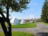 The south side of the park is for professional astronomers who can rent viewing domes.