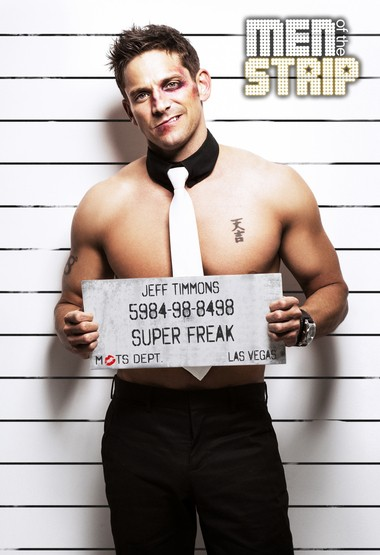 Jeff Timmons is the emcee of Men of the Strip, which is coming to Lancaster's Chameleon Club on Nov. 30, 2013.