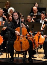 Zuill Bailey performs Dvorak's Cello Concerto with the Harrisburg Symphony Orchestra on Feb/ 8, 2014.