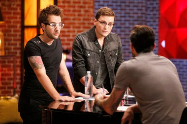"Will Champlin, James Wolpert, Adam Levine on ""The Voice"""