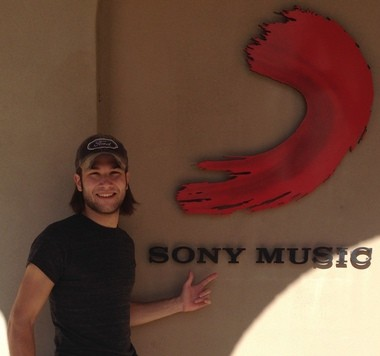 Sony signs record deal with Ben Gallaher of Camp Hill