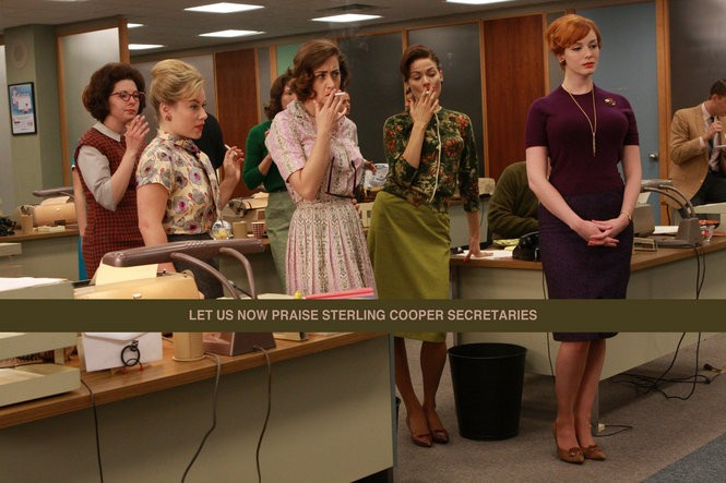 Mad Men': Let us now praise Sterling Cooper secretaries