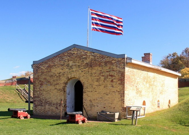Fort Mifflin might look peaceful, but it's supposedly one of the most haunted places in Philadelphia.