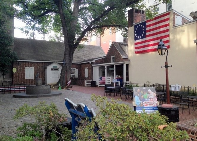 The Betsy Ross' House is supposedly haunted by its famous namesake.
