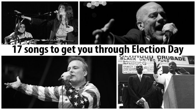 People Have The Power,' 'Gimme Some Truth' and 15 other songs to get