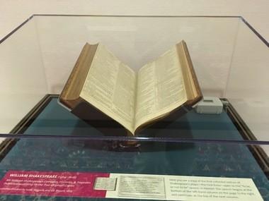 William Shakespeare's First Folio on display at Elizabethtown College