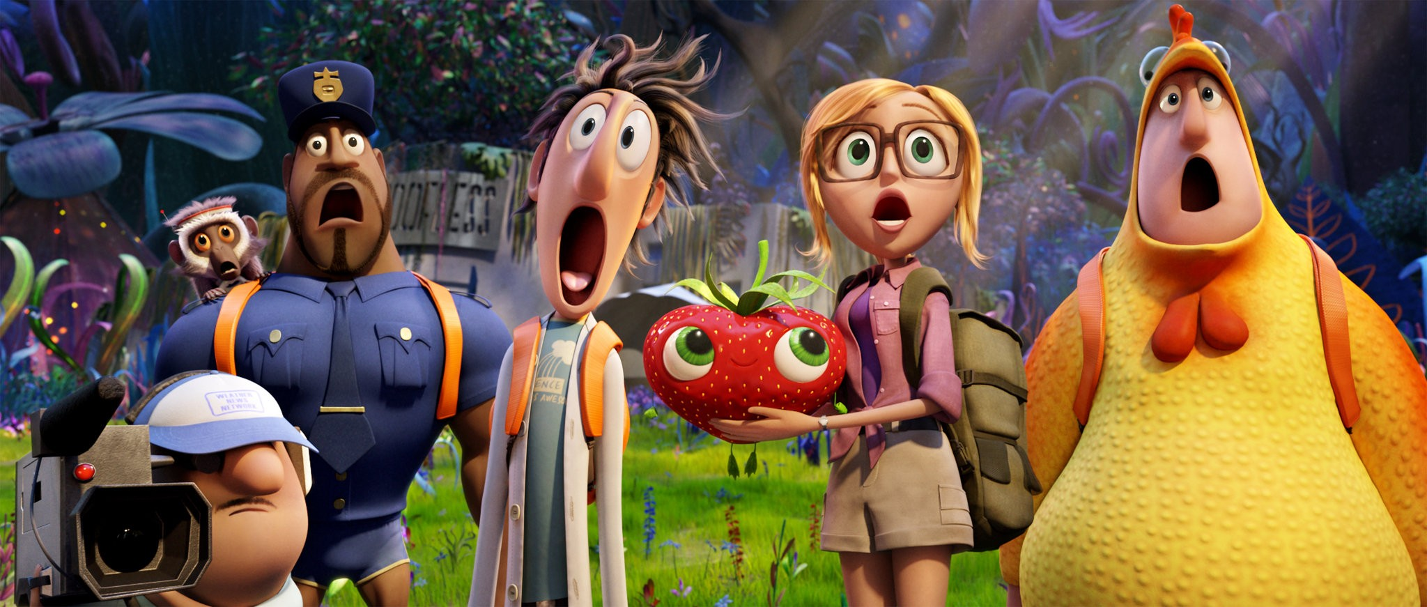 Cloudy With A Chance Of Meatballs 2 Gorgeous Visuals Cheesy Puns Pennlive Com