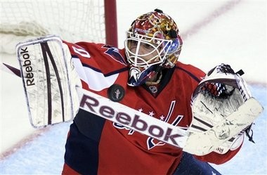 Goalie Braden Holtby is slated to rejoin the Washington Capitals.