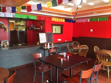 The interior of Yak n Yeti features typical Bhutanese design and decorations, employee Kinley Tshering said.