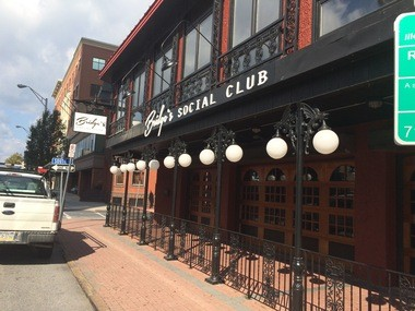 Bridge's Social Club will open on Oct. 27 along North Second Street in Harrisburg.