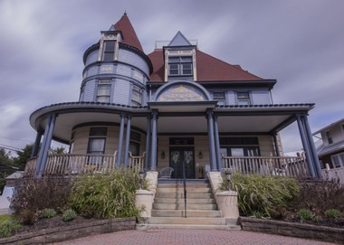 The Levi Deal Mansion in Meyersdale, Pa., is the most luxurious place to stay along the GAP.
