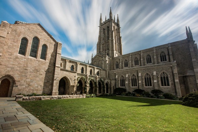 Bryn Athyn Cathedral is one of Pennsylvania's most impressive churches.