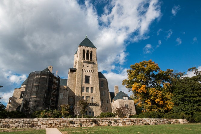 Glencairn is a castle-like building that features an amazing collection of religious art.