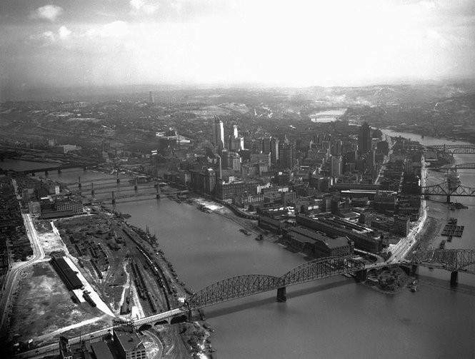 Then vs  now: See how Pittsburgh has changed since the 1920s