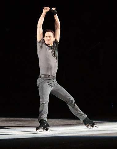 Scranton native Adam Rippon, the 2016 gold medalist at the U.S. Figure Skating Championships. Rippon will perform with Stars on Ice at the Giant Center in Hershey on May 4.