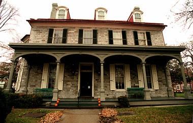 The John Harris-Simon Cameron Mansion, 219 S. Front St., Harrisburg.