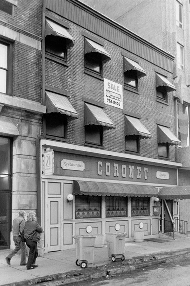 The Coronet Restaurant at 21 S. Second St. closed in 1994 after a fire. (J.S. Zeedick, Allied Pix for The Patriot-News)