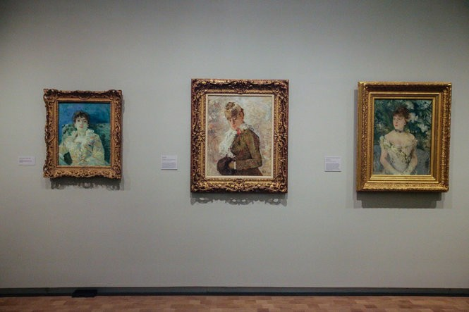 """Berthe Morisot: Woman Impressionist"" showcases the work of French artist Berthe Morisot (1841-1895), one of the lead figures in the impressionist movement. It's at the Barnes Foundation in Philadelphia Oct. 21, 2018 to Jan. 14, 2019. Julia Hatmaker 