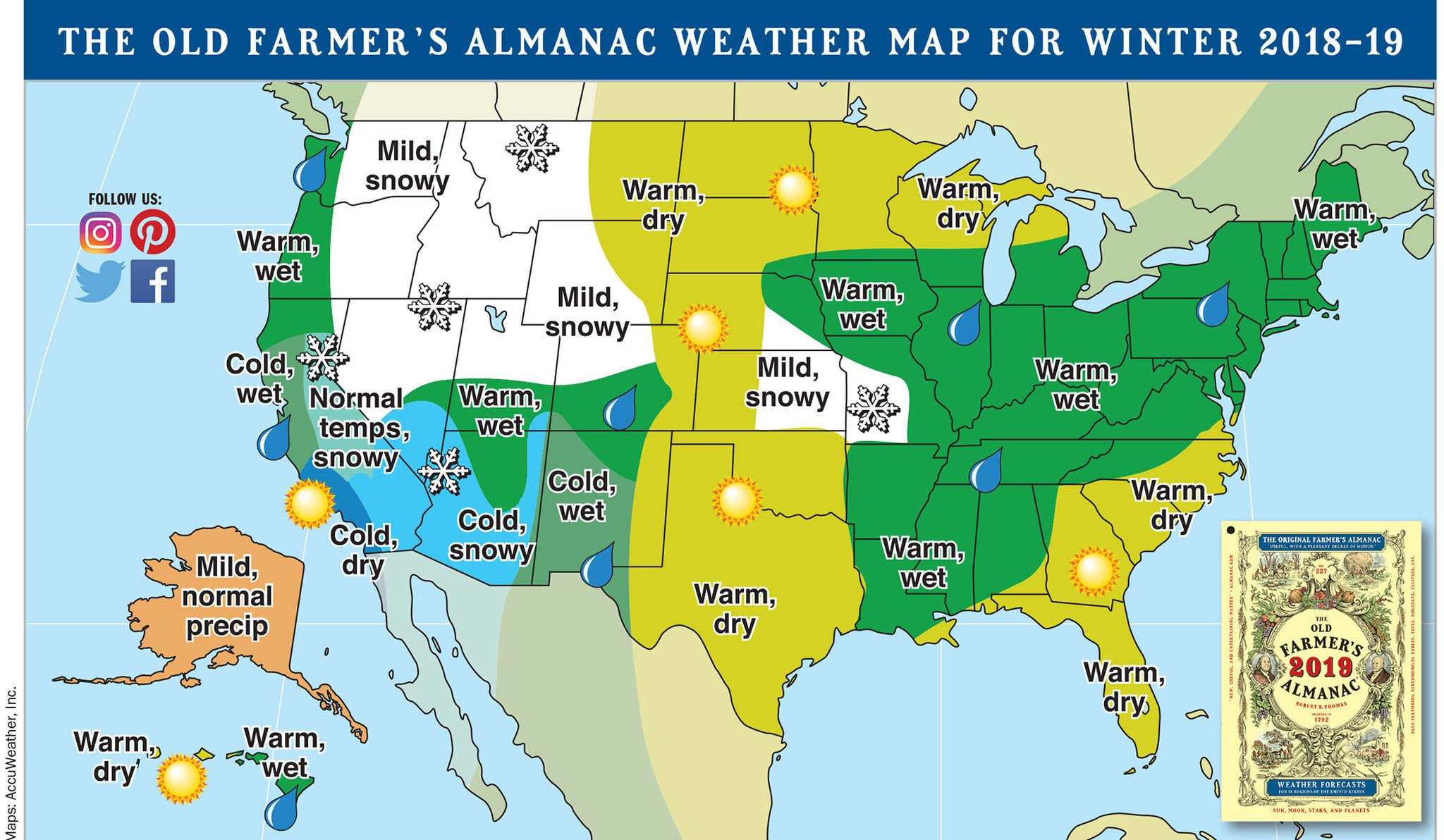 Winter 2020 Predictions Northwest.Polar Coaster On Its Way For Winter 2019 20 Says Farmers