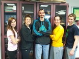 Mechanicsburg Area High School Memory Team (left to right) Olivia Hess, Natalie Zelenky, Josh Tarantino, Kathryn Ruszkowski, David Kutz will be competing in the USA Memory Championship March 16.