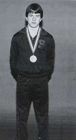 Jared Daum won a state wrestling championship in 1985 for Susquenita High School.