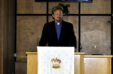 The Rev. Frank Schaefer, pastor of Zion United Methodist Church of Iona in Lebanon, said he followed his heart when his son, Tim, asked him to officiate at his same-gender wedding in 2007. Schaefer now faces a church trial - and possible defrocking.