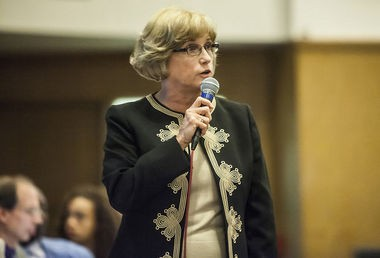 The Patriot-News editorial board has called for Susquehanna Twp. School Superintendent Susan Kegerise (above) and her assistant Cathy Taschner to resign immediately.