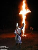 Traditionalist American Knights of the KKK imperial wizard Frank Ancona.