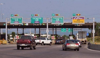 Turnpike officials said they try to maintain two lanes of traffic in each direction during construction.
