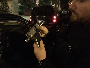 Harrisburg's Street Crimes Unit recovered this gun, which was stolen in the burglary, from a suspected robbery after a street holdup Oct. 25.