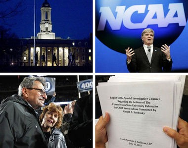 A 2-year-old email from NCAA's top lawyer, filed Thursday in a court case, documents just how close Penn State came to having its football program shut down over the Jerry Sandusky child abuse scandal.