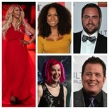 """Clockwise from left: """"Orange is the New Black"""" actress Laverne Cox, author and talk show host Janet Mock, """"Transparent"""" actor Ian Harvie, LGBT advocate Chaz Bono, """"Matrix"""" trilogy director Lana Wachowski"""