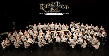 Repasz Band, of Williamsport, is one of the oldest non-military bands in continuous service in the United States. This photo shows the band in 2013.