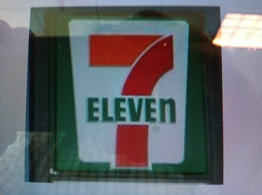 7-Eleven's trademarked sign