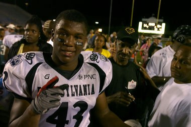 In 2008, Adrian Robinson, already a two-time all-state selection, was named state MVP after a stunning performance in the Big 33 Classic. Robinson had 10 tackles, three sacks and a blocked punt that night.