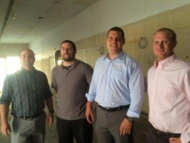 Tattered Flag Brewery & Still Works partners (from left) Tony DeLellis, Ben Ramsay, Matt Fritz and Pat Devlin.