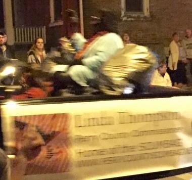 Newport Halloween parade.
