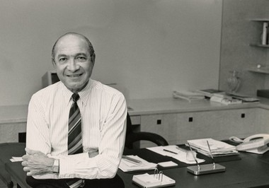 "Alex Grass, the late founder of Rite Aid, as photographed in 1992. ""The business agreed well with me,"" he said of his success."