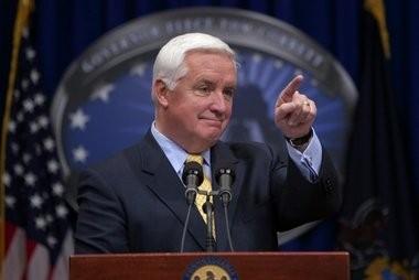 Pennsylvania Governor Tom Corbett.